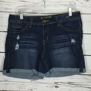 YMI wannabettabutt? Distressed jean shorts
